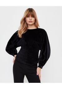 ISABEL MARANT - Bawełniana bluzka Elaviae. Okazja: na co dzień, na spotkanie biznesowe. Kolor: czarny. Materiał: bawełna. Długość rękawa: długi rękaw. Długość: długie. Styl: klasyczny, casual, biznesowy