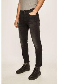 Czarne jeansy G-Star RAW w kolorowe wzory