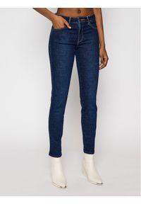 Niebieskie jeansy slim Wrangler