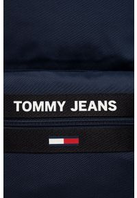 Tommy Jeans - Plecak. Kolor: niebieski. Materiał: poliester. Wzór: aplikacja