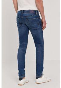 Pepe Jeans - Jeansy Hatch. Kolor: niebieski