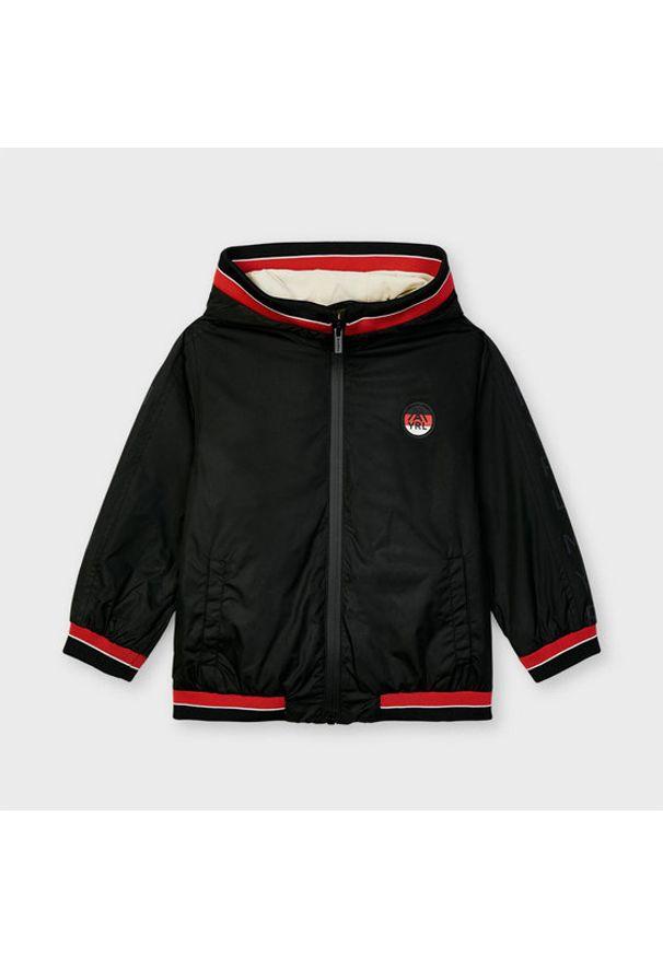 Czarna kurtka przejściowa Mayoral
