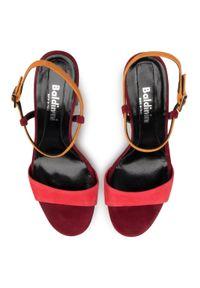Różowe sandały Baldinini eleganckie