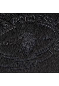 U.S. Polo Assn - Torebka U.S. POLO ASSN. - New Hailey Shopping BEUHF5157WVP000 Black. Kolor: czarny. Materiał: skórzane. Rodzaj torebki: na ramię