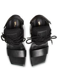 Czarne sandały United Nude na co dzień, sportowe #6