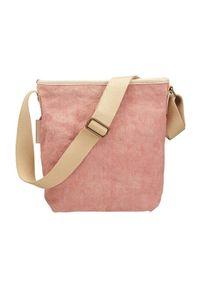 Różowa torebka Ceannis elegancka, na ramię