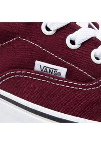 Czerwone baleriny Vans