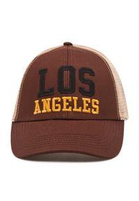 Brązowa czapka z daszkiem Jack & Jones