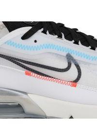 Białe półbuty Nike casualowe, z cholewką