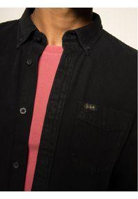 Czarna koszula casual Lee button down