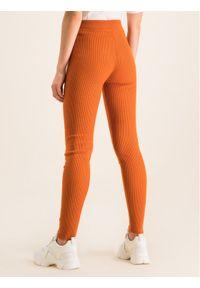 Pomarańczowe legginsy MAX&Co.