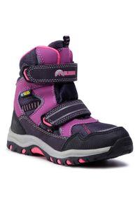 Fioletowe buty zimowe Elbrus na spacer