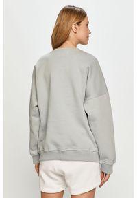 Szara bluza gładkie