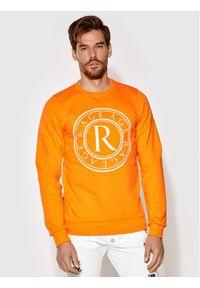 Rage Age Bluza Crewnec 2 Pomarańczowy Slim Fit. Kolor: pomarańczowy
