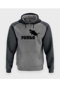 MegaKoszulki - Bluza męska dwukolorowa Pumba
