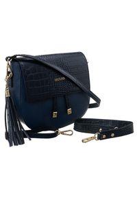 Niebieska torebka Badura do ręki