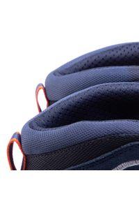 Kayland - Trekkingi KAYLAND - Plume Micro Gtx GORE-TEX 18020070 Blue/Orange 1. Kolor: niebieski. Materiał: skóra, materiał, zamsz. Szerokość cholewki: normalna. Technologia: Gore-Tex. Wzór: aplikacja. Sport: turystyka piesza