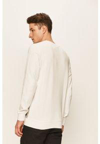 Biała bluza nierozpinana Tom Tailor Denim na co dzień, z aplikacjami