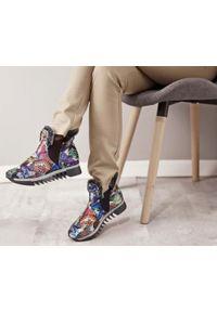 Botki Zapato bez zapięcia, na co dzień, casualowe, wąskie