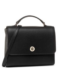 Czarna torebka klasyczna TOMMY HILFIGER klasyczna