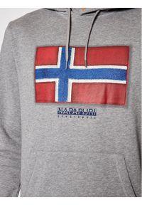 Napapijri Bluza Birol H P0A4F9Q Szary Regular Fit. Kolor: szary