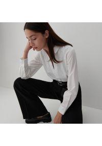 Reserved - Koszula z bawełny organicznej - Biały. Kolor: biały. Materiał: bawełna