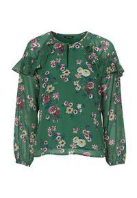 Zielona bluzka Happy Holly casualowa, na co dzień