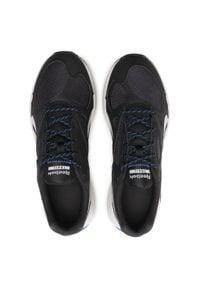 Buty Reebok - Lavante Terrain FX1422 Cblack/Coublu/Pugry2. Kolor: czarny. Materiał: skóra ekologiczna, materiał, skóra. Szerokość cholewki: normalna. Sport: bieganie, fitness