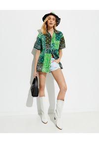 ARIZONA LOVE - Zielona koszula Bowling. Kolor: zielony. Materiał: bawełna. Wzór: paisley