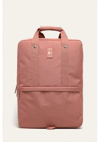 Lefrik - Plecak. Kolor: różowy. Wzór: paski