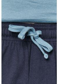 Henderson - Piżama. Kolor: niebieski. Materiał: dzianina. Wzór: gładki
