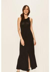 Czarna sukienka Noisy may casualowa, maxi