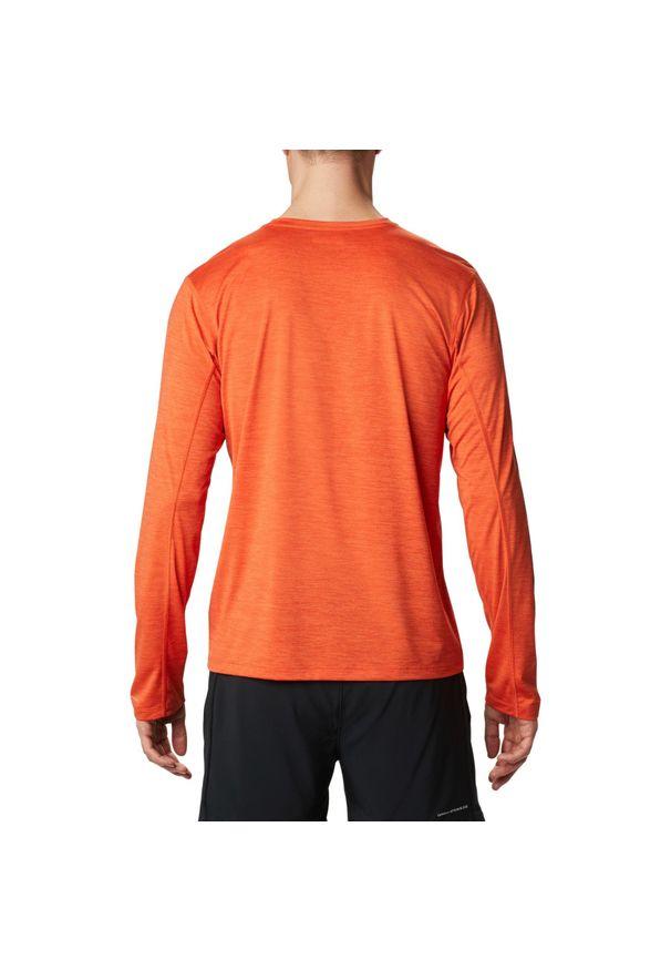 Pomarańczowa koszulka sportowa columbia