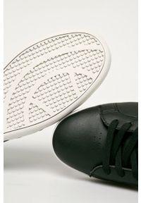 Czarne sneakersy U.S. Polo Assn na sznurówki, z cholewką