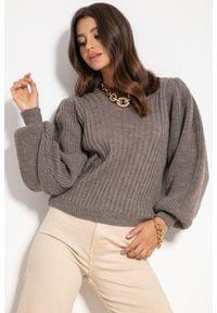 Sweter Fobya w prążki