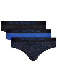 Czarne slipy Emporio Armani Underwear