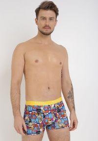 Żółte bokserki Born2be