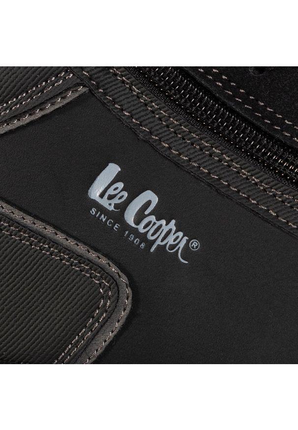 Czarne trzewiki Lee Cooper eleganckie