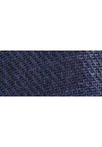 Niebieski kapelusz TOP SECRET elegancki, na wiosnę, w kolorowe wzory