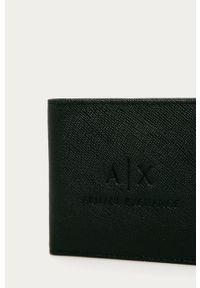 Czarny portfel Armani Exchange