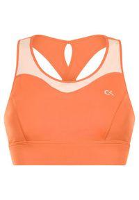 Pomarańczowy top Calvin Klein Performance