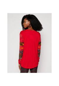 Czerwona bluzka Desigual