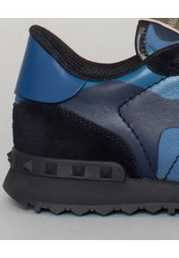 Czarne sneakersy VALENTINO z aplikacjami, na co dzień