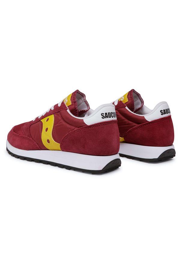 Czerwone buty sportowe Saucony