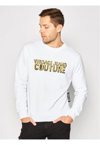 Versace Jeans Couture Bluza B7GVB7KJ Biały Slim Fit. Kolor: biały