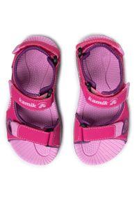 Różowe sandały Kamik na lato