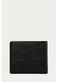 Czarny portfel Trussardi Jeans