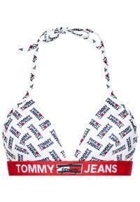 Białe góra bikini Tommy Jeans