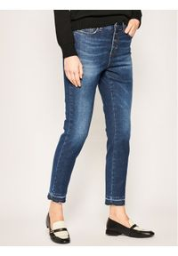 iBlues Jeansy Skinny Fit Violet 71810601 Granatowy Skinny Fit. Kolor: niebieski. Materiał: jeans