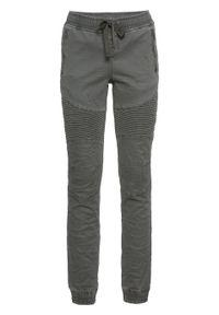 """Spodnie w swobodnym stylu bonprix antracytowy """"used"""". Kolor: szary"""